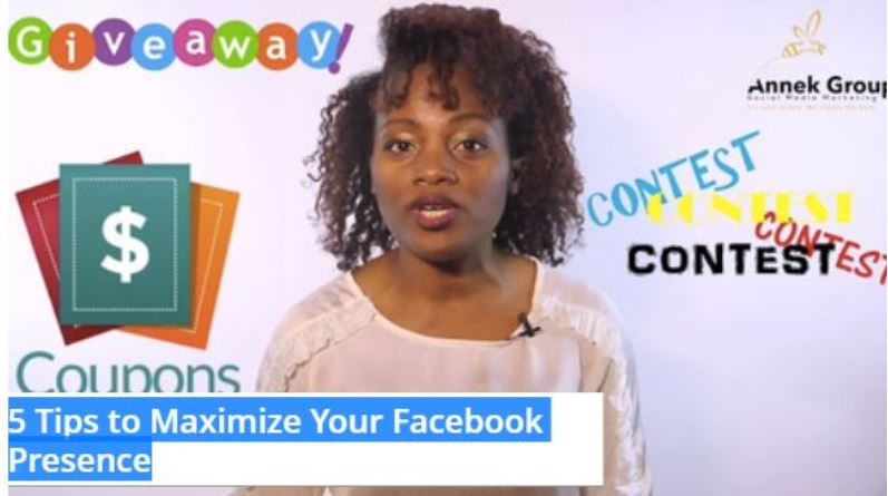 5 Tips to Maximize Your Facebook Presence